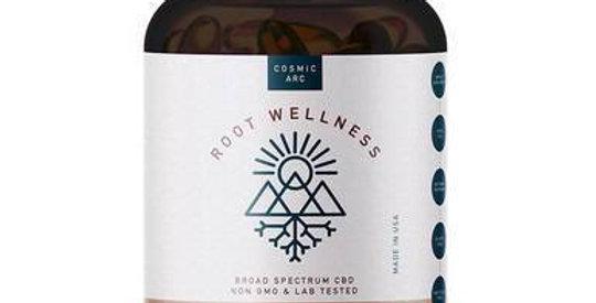 Root Wellness - CBD Soft Gels - Broad Spectrum - 750mg