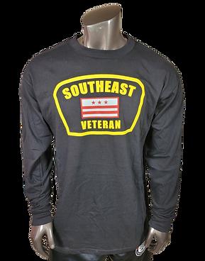 SE Veteran Shirt -Black Long Sleeve