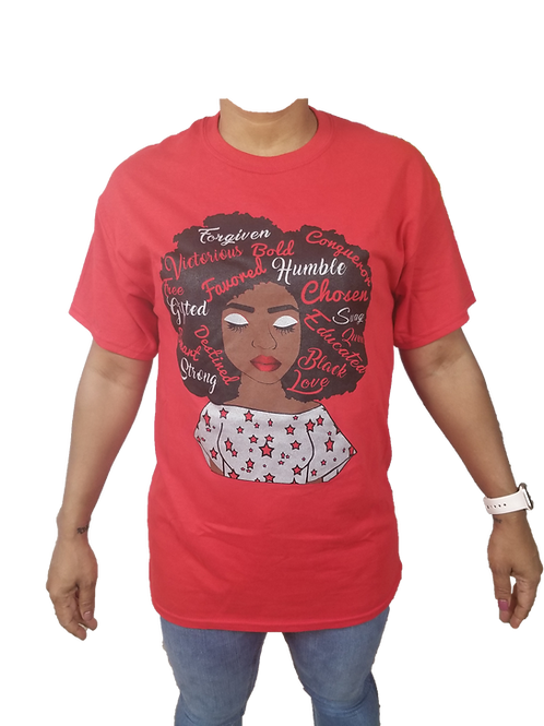"""""""Sisters Rock"""" Shirt - Various Colors on Red"""