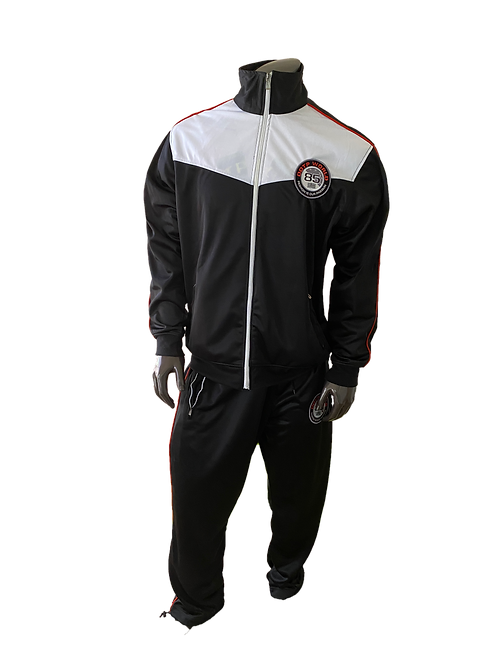 DDTP World Sweatsuit - White on Black