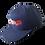 Thumbnail: DDTP World Snapback Hat - Red & White on Blue