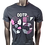 Thumbnail: DDTP 85 Shirt - Mauve and Grey on Black