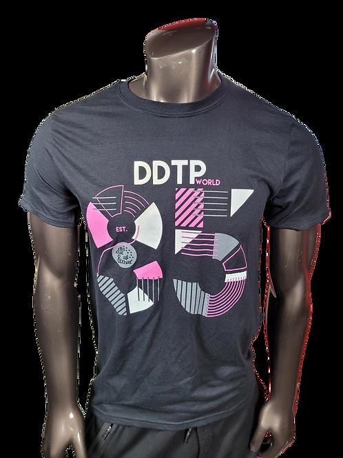 DDTP 85 Shirt - Mauve and Grey on Black