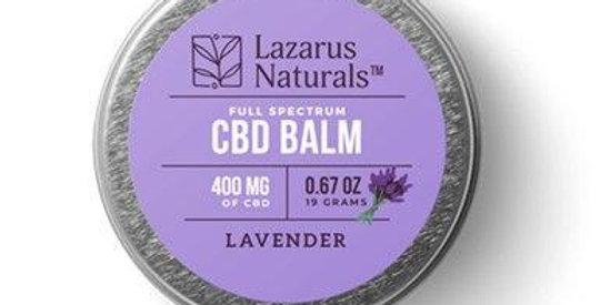 Lazarus Naturals - CBD Topical - Lavender Full Spectrum Balm - 300mg-1200mg