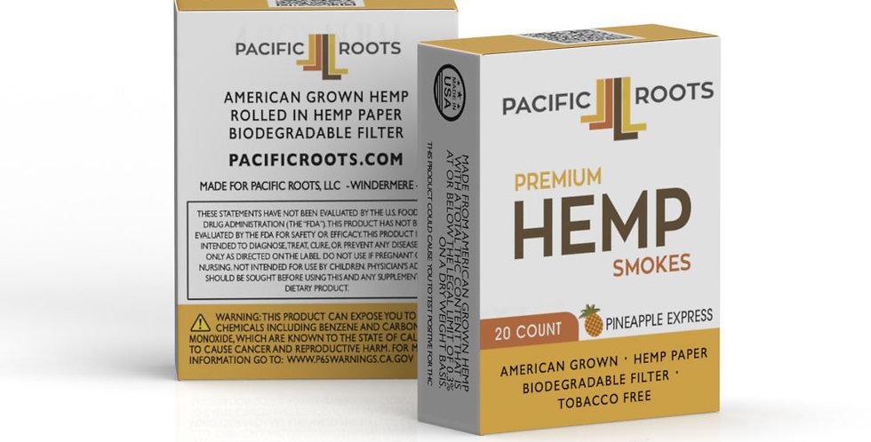 Pacfiic Roots - 20 Pack Hemp Smokes Pineapple Express