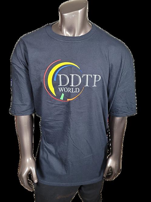 DDTP World Swirl Shirt - Swirl Design on Black