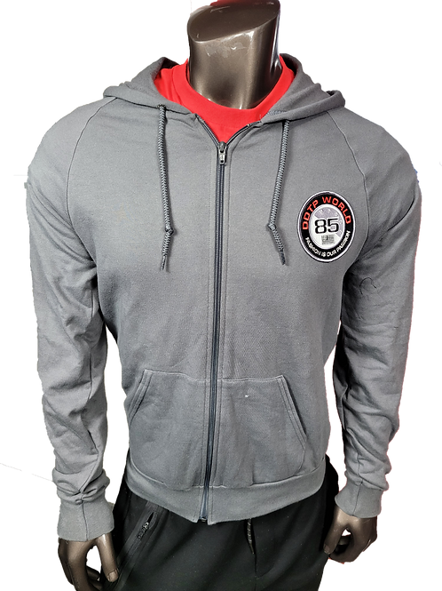 DDTP World 85 Hoodie Jacket - Gray (hoodie only)