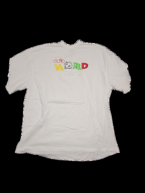DDTP World Shirt - Classic Design on White