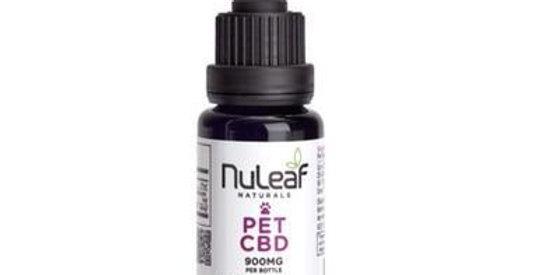 NuLeaf Naturals - CBD Pet Tincture - Full Spectrum Extract - 300mg-1800mg