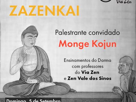 Zazenkai de Setembro, 2021 - Retiro zen budista de um dia