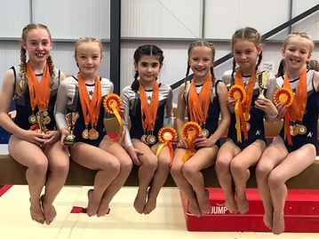 Leamington and Warwick Gymnastics Club Squad