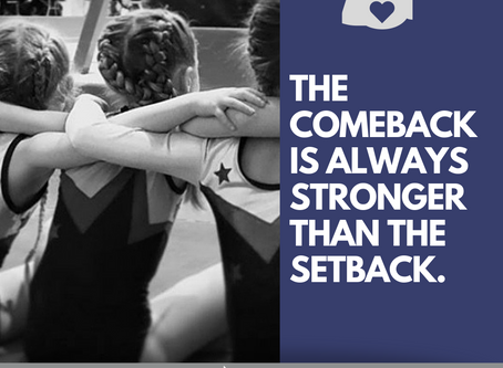 The Comeback Is Always Greater Than The Setback