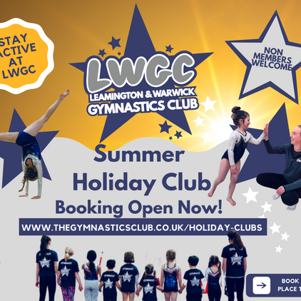 Summer Holiday Club Booking Now Open!