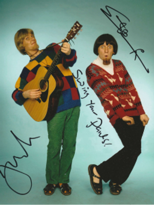 Trev & Simon Signed Photos