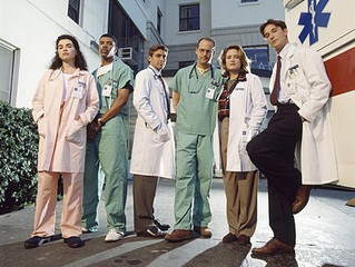 #ThrowbackThursday: lunch with ER's Noah Wyle