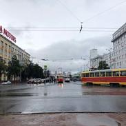 Lenin Avenue, Yekaterinburg Siberia