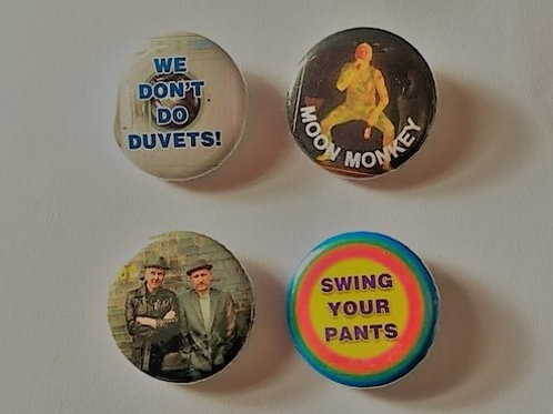 Badge Collections: Trev & Simon