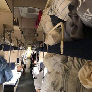 Trans Siberian Express: third class carriage