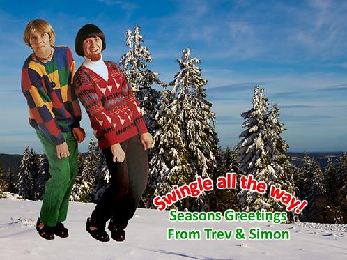 Trev & Simon Signed Cards