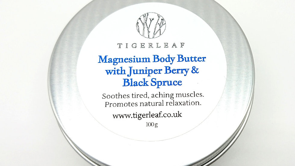 Juniper Berry & Black Spruce Magnesium Butter 100g