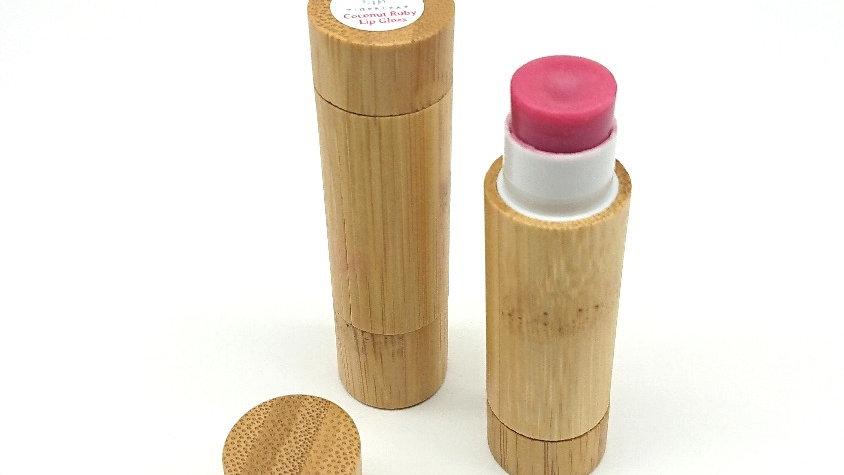 Coconut Ruby Bamboo Lip Gloss 6g
