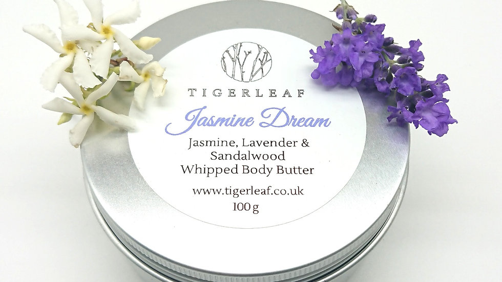 100g Jasmine Dream Whipped Body Butter with Jasmine, Lavender and Sandalwood