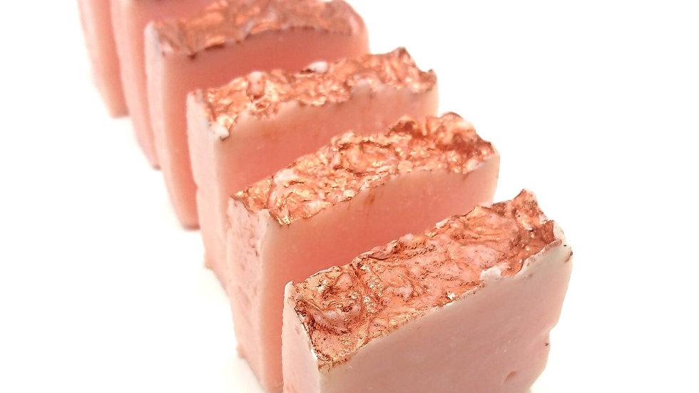 Rose Geranium and Ginger Handmade Soap