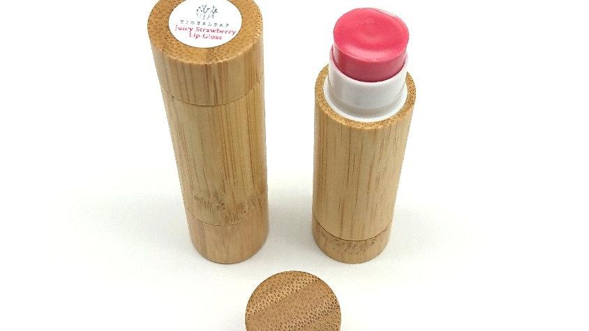 Juicy Strawberry Bamboo Lipstick Gloss 6g