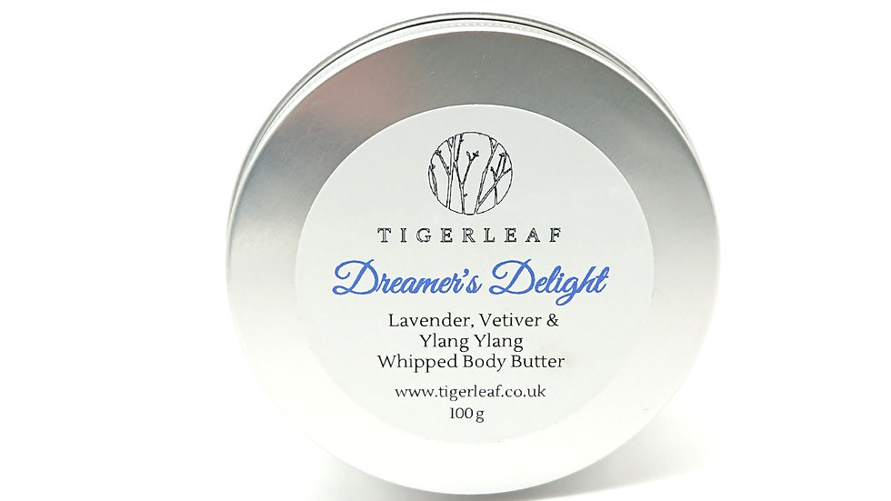 Dreamer's Delight Whipped Body Butter with Ylang Ylang, Lavender & Vetiver
