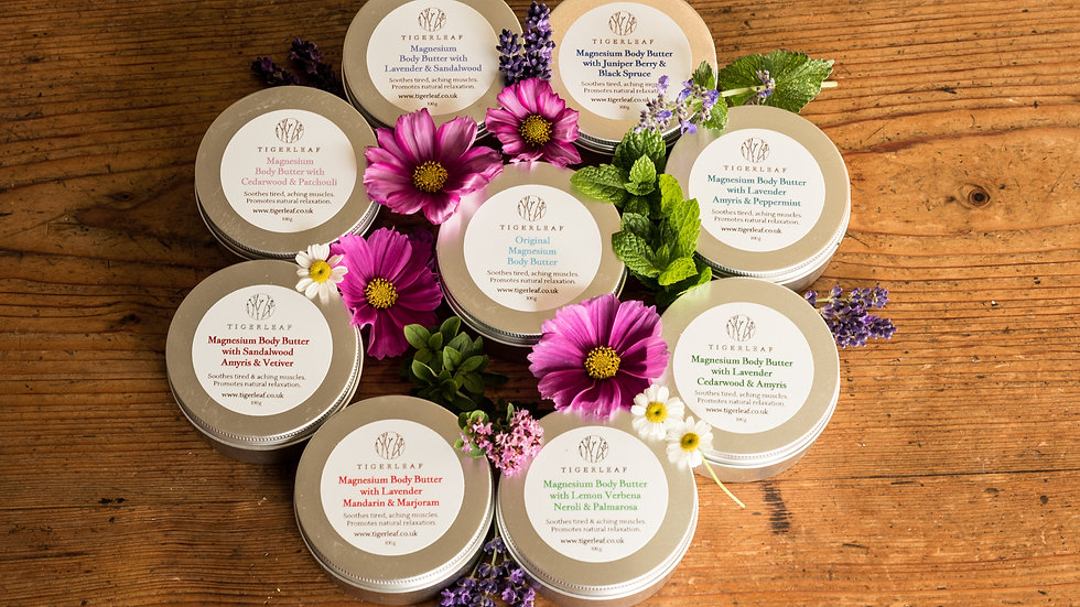 60g Lavender and Sandalwood Magnesium Body Butter