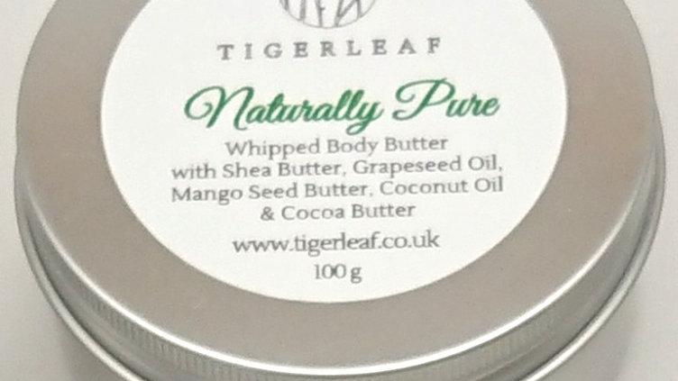 100g Naturally Pure Whipped Body Butter