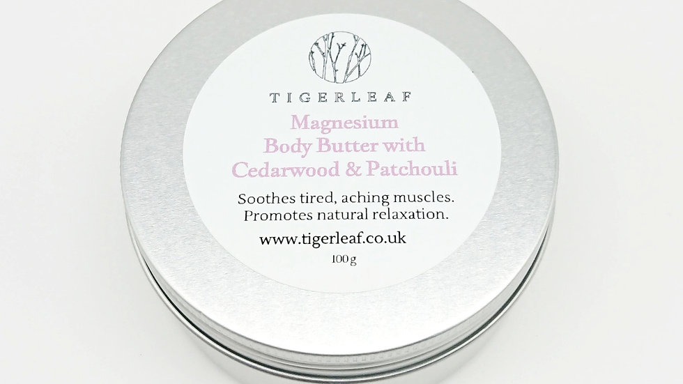 Cedarwood and Patchouli Magnesium Body Butter g