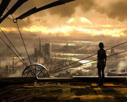 Wasteland Cityscape