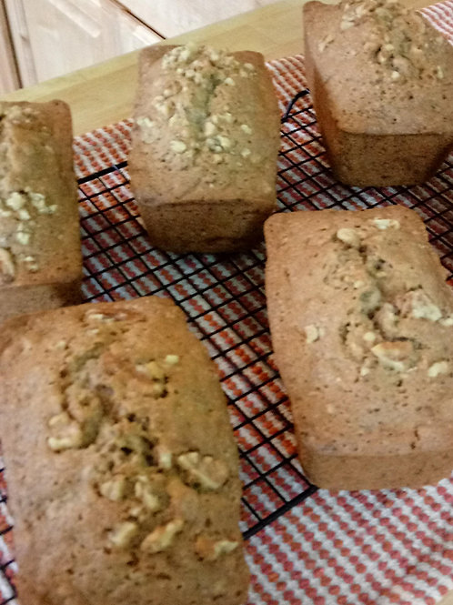Zucchini Bread with Walnuts