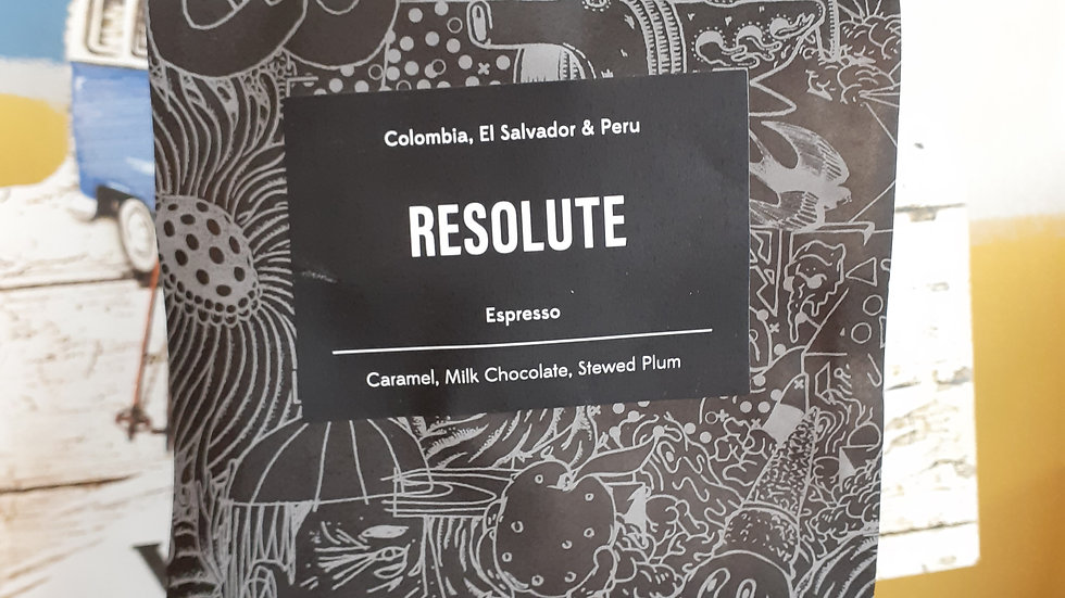 Resolute Beans from Origin Coffee