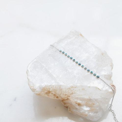 Silver Baby Eye Bracelet