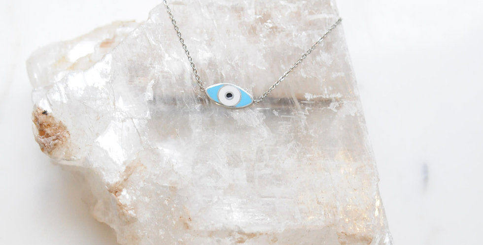 Small Steel Enamel Eye