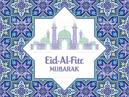 Eid-al-Fitr fredag 15. juni 2018