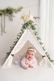 White Lace Teepee