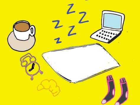 Lazy Sunday:TO SLEEP, OR NOT TO SLEEP