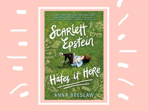 Book Review: Scarlett Epstein Hates it Here