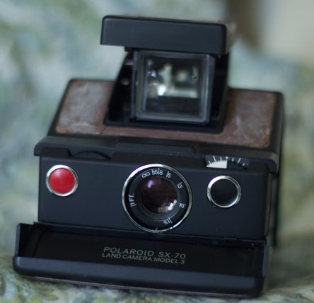 Vintage Polaroid Camera by Micaela Cali