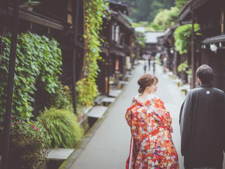 飛騨高山 旅をかねた結婚式