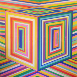 Lively Cube Dimension by Tino - Augustin Sagehomme