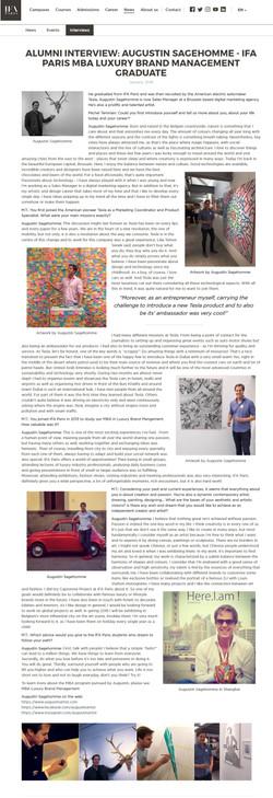 Augustin Sagehomme Artist alumni ifa paris interview Shanghai Deer.I.am