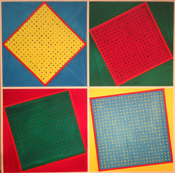 Inside the geom's squares by Tino - Augustin Sagehomme