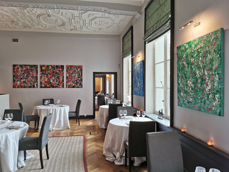 Augustin S. exhibition at the exclusive Cercle de Lorraine in Brussels