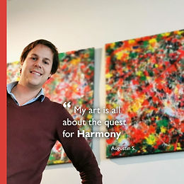 Harmony Augustin Sagehomme artist Fusion