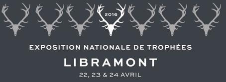 """Augustin S. invité de l' """"Exposition Nationale de Trophées de Cerf"""" - Libramont, 22, 2"""