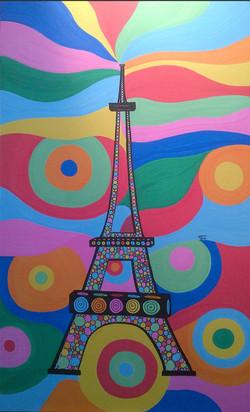 Eiffel Flower by Tino - Augustin Sagehomme
